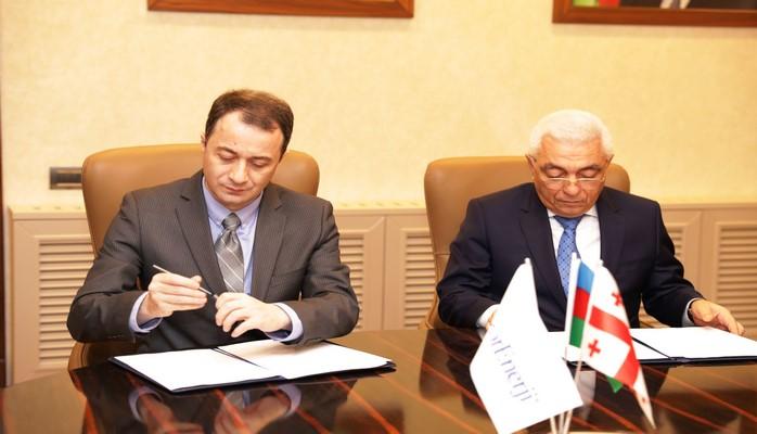 Azərbaycan-Gürcüstan enerji sisteminin perspektivləri ilə bağlı memorandum imzalanıb