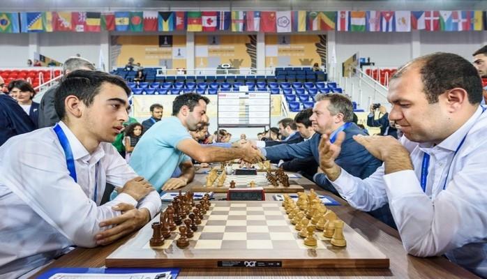 Мужская команда Азербайджана лидирует на Всемирной шахматной oлимпиаде