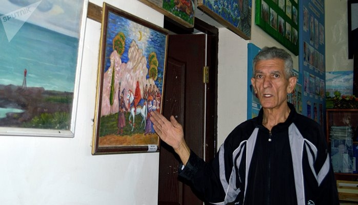 """Astaralı rəssam """"Quran""""ın hər surəsinə aid tablo çəkməyi öhdəsinə götürüb"""