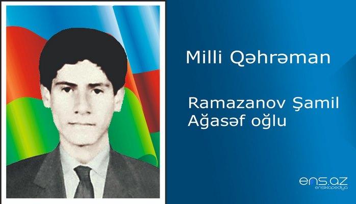 Ramazanov Şamil Ağasəf oğlu
