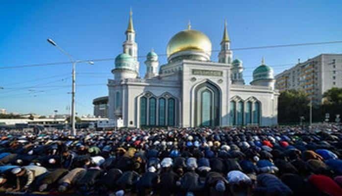 Moskvada Qurban bayramı qeyd edilir