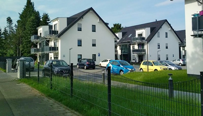 Almaniyada kasıblar üçün tikilən sosial evlər belə görünür