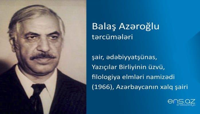 Balaş Azəroğlu