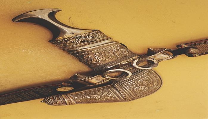 Оманский кинжал — ханджар