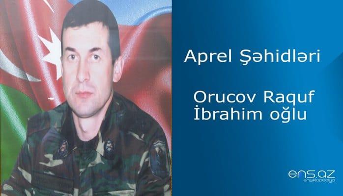 Raquf Orucov İbrahim oğlu