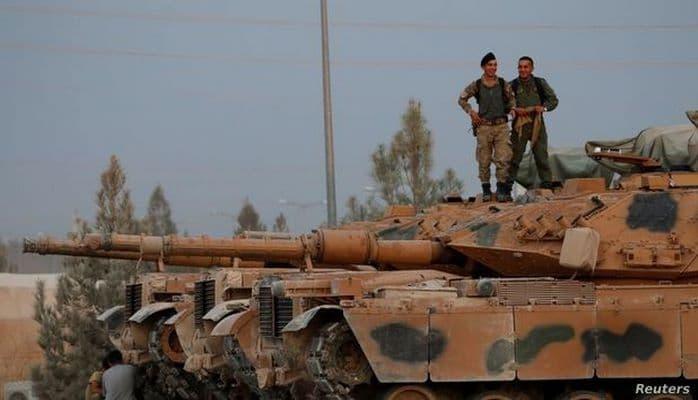 Турция объявила о приостановке операции в Сирии