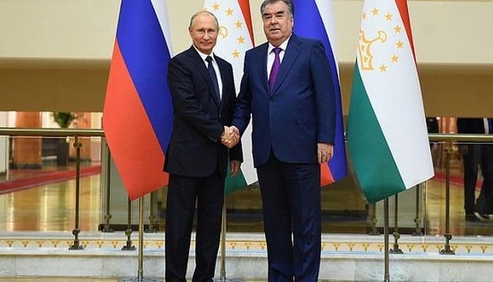 Рахмон и Путин обсудили перспективы сотрудничества