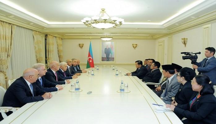 Oесман Сапта: Увиденное в Aзербайджане произвело на меня приятное впечатление