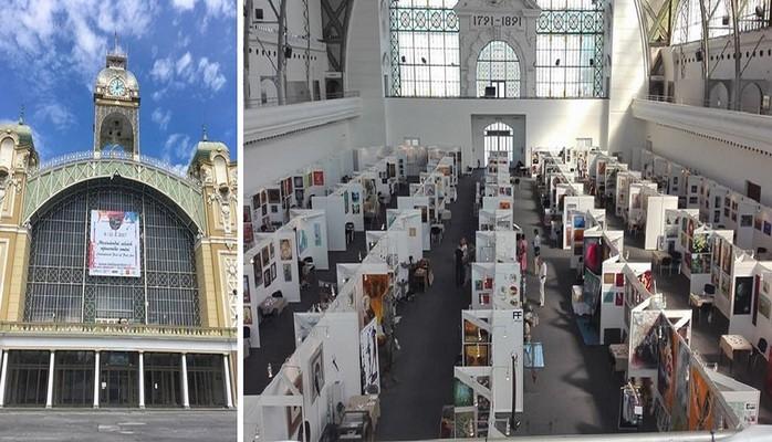 В Праге прошла ярмарка искусства