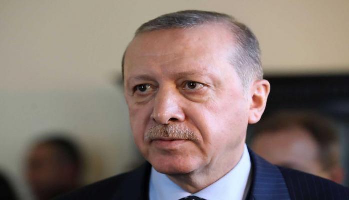 Эрдоган прибыл на границу с Сирией