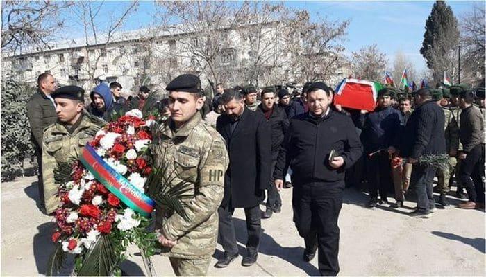 Азербайджанский шехид предан земле