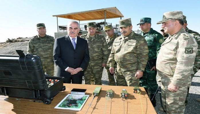 AMEA-nın birgə istehsal etdiyi hərbi təyinatlı cihazlar  yüksək texniki göstəriciləri ilə seçilib
