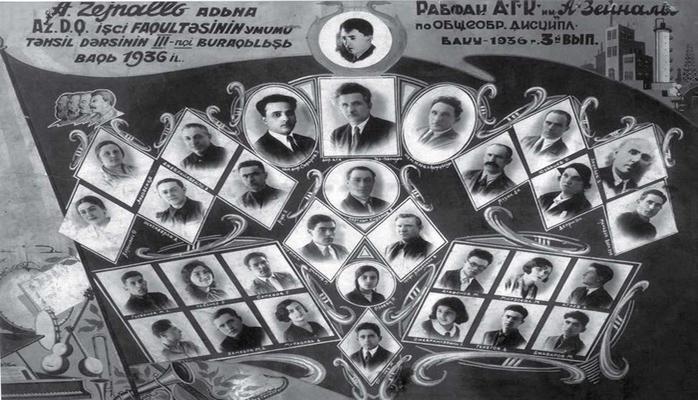 Первые профессиональные музыкальные кадры в Азербайджане