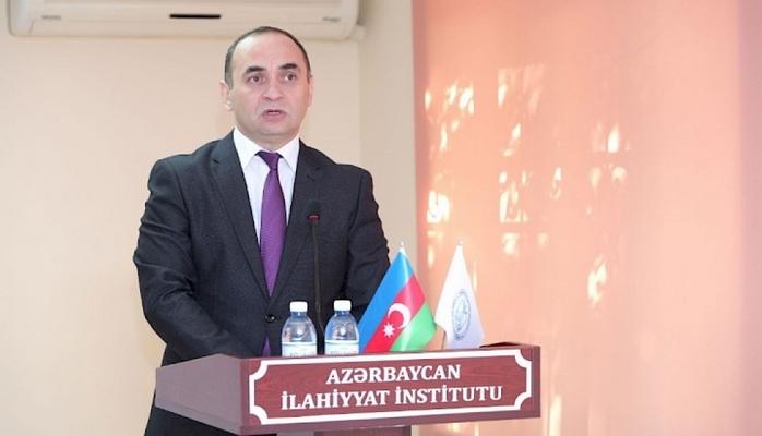 """İlahiyyat İnstitutunda """"Hər rəngində mən varam"""" filmi nümayiş olunub"""
