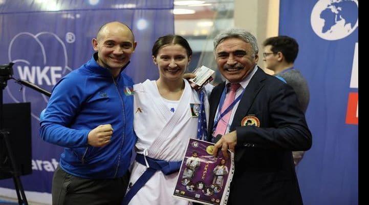 Азербайджанские каратисты возвращаются из Парижа с двумя медалями