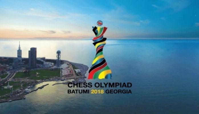 Сборная Азербайджана провела очередную встречу на 43-й Всемирной шахматной олимпиаде