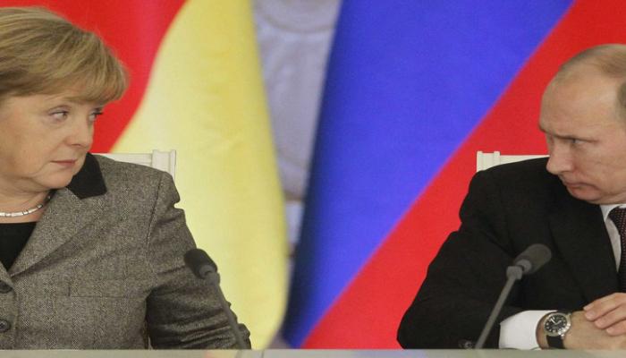 Меркель и Путин обсудили ситуацию в Сирии и Ливии