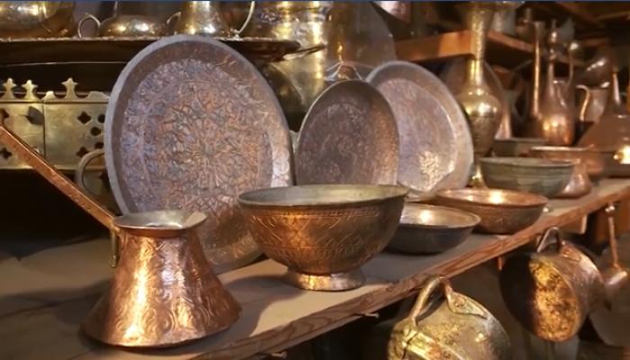 Художественный металл - великолепные образцы искусства Азербайджана