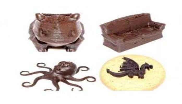 Шоколадные конфеты напечатали на 3D-принтере в Сингапуре