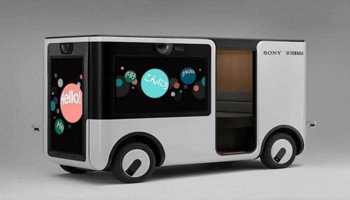 Sony и Yamaha запускают беспилотный автобус без окон