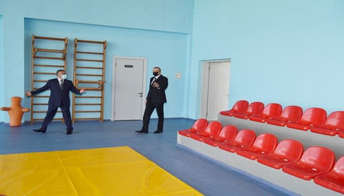 Состоялось открытие Тертерского олимпийского спорткомплекса