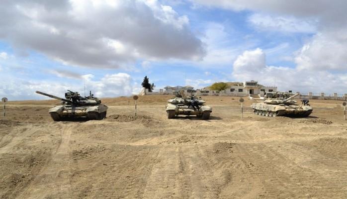 """Azərbaycan Ordusunda """"Ən yaxşı tank bölüyü"""" adı uğrunda yarışlara start verilib"""