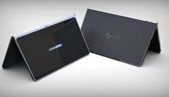 LG запатентовал безрамочный планшет с пристегивающейся клавиатурой