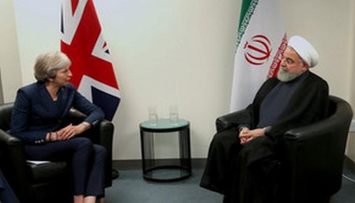 Премьер-министр Великобритании встретилась с президентом Ирана