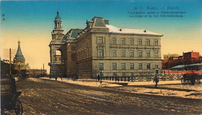 Цветные открытки Баку конца XIX – начала ХХ века (ФОТО) – часть 3