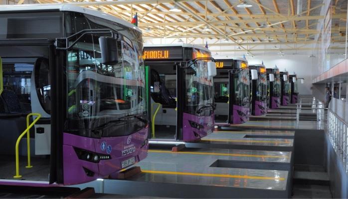Доставленные в Баку новые автобусы будут переданы в эксплуатацию до конца года