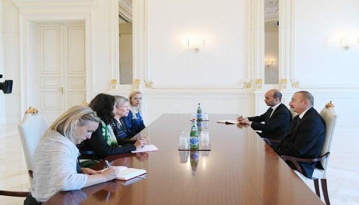 Президент Ильхам Алиев принял делегацию во главе с заместителем генерального секретаря НАТО