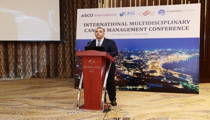 В Баку проходит международная конференция на тему «Международное мультидисциплинарное лечение рака»