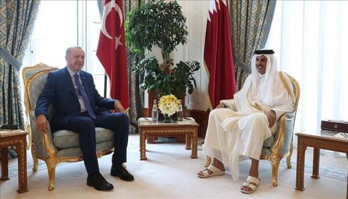 Эрдоган встретился с эмиром Катара