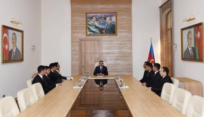 Elçin Quliyev yığma komanda ilə görüşüb