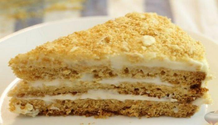 """Торт """"Медовик"""" за 15 минут: пошаговый рецепт"""