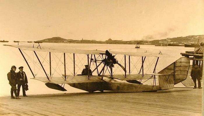 Бакинская офицерская школа морской авиации 1915-1918 (ФОТО)