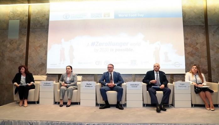 В Баку состоялось мероприятие, посвященное Всемирному дню продовольствия