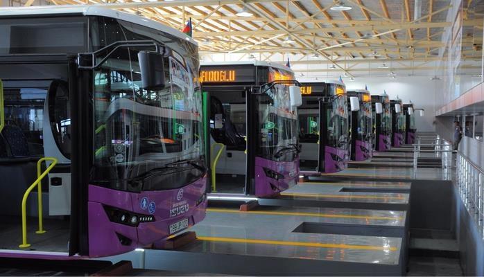 В Баку будут доставлены 70 автобусов «Евро 6»