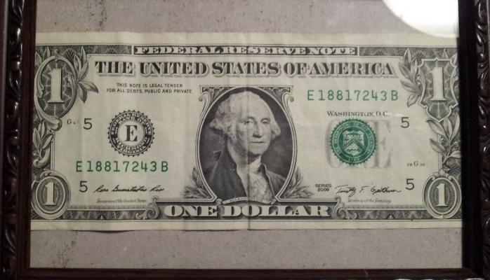 İlk dollar nə vaxt çap olunub?
