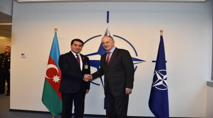 Azərbaycan Prezidentinin köməkçisi NATO-nun mənzil-qərargahında olub