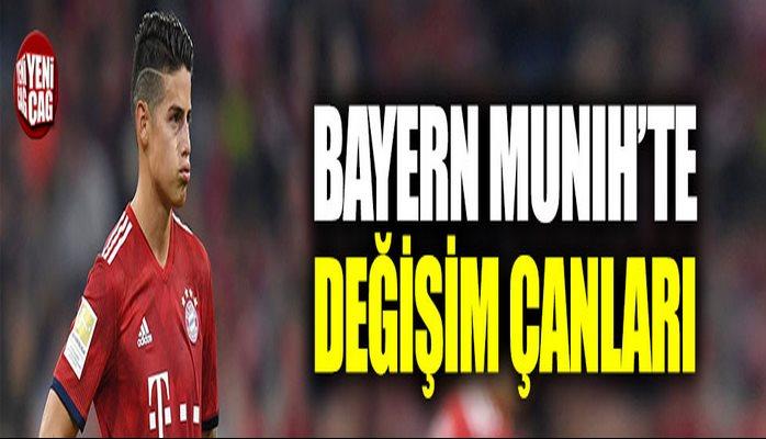 Bayern Münih'te büyük değişim