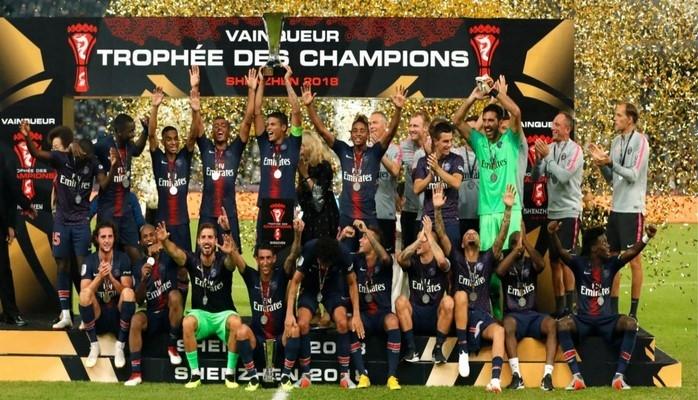 PSJ klubu Fransa superkubokunun qalibi olub