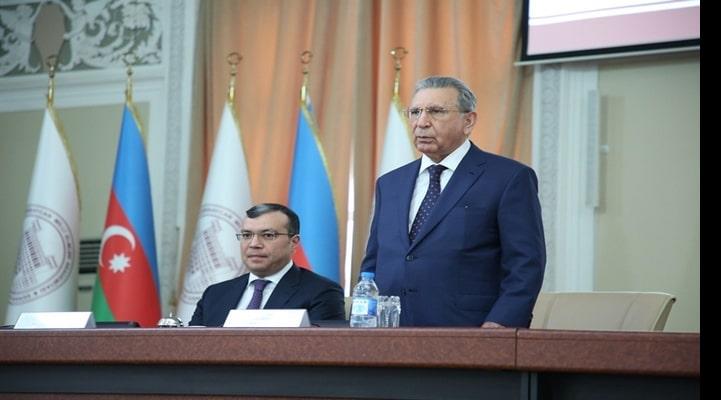 В НАНА состоялась встреча с министром труда и социальной защиты населения