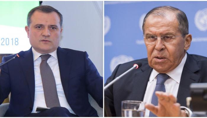 Состоялся телефонный разговор глав МИД Азербайджана и России
