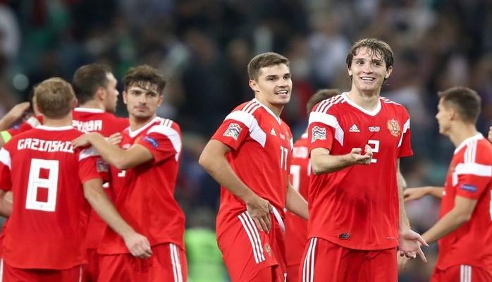 Россия победила команду Турции и укрепила лидерство в группе Лиги наций