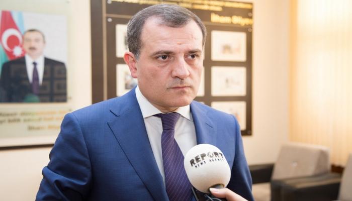 Ceyhun Bayramov və Avropa İttifaqının nümayəndəsi telefonla danışıb