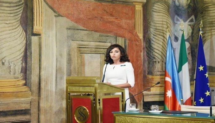 Мехрибан Алиева: Карабах и 7 районов должны быть освобождены