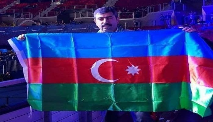 Azərbaycanlı fanat: Himnimiz səslənəndə ermənilər ayağa qalxdı