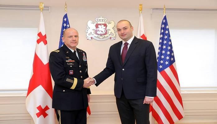 ABŞ Gürcüstanda hərbi aerodrom inşa edəcək