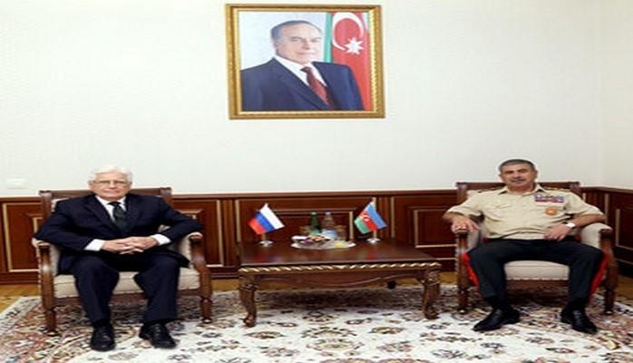 Обсуждены вопросы военного сотрудничества между Азербайджаном и Россией